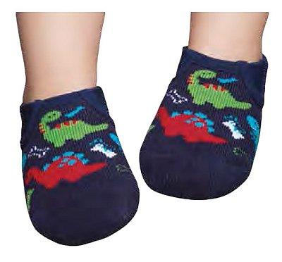 Meia Sapato Dino Antiderrapante