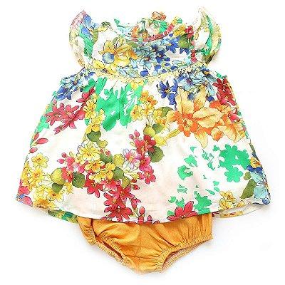 Vestido Bebê Maria Bonita
