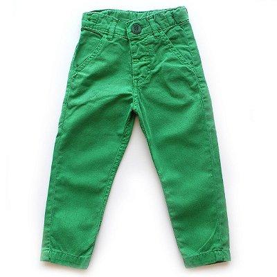 Calça Skinny Color Verde