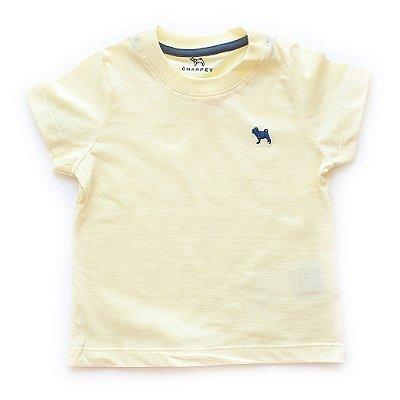 T-shirt Basiquinha Amarela