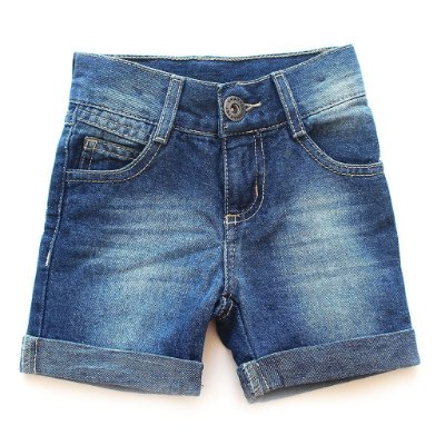 Bermuda Jeans Lavado