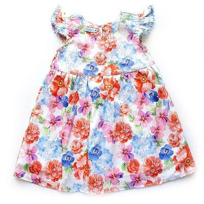 Vestido Flora Crochet