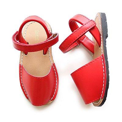 Sandália Avarca Vermelha