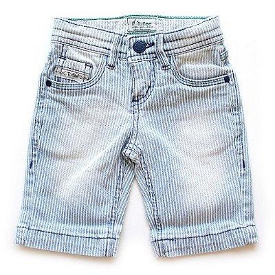 Bermuda Jeans Listradinha Used