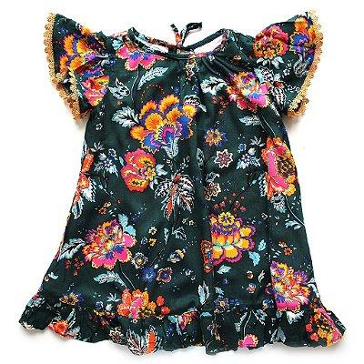 Vestido Abacate Guipir