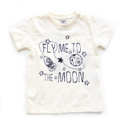 T-shirt Offwhite Fly Me To The Moon