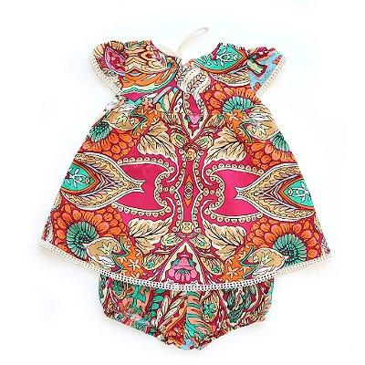 Vestido Rendinha Semear
