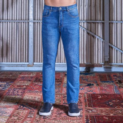 Calça Jeans Regular Masculina