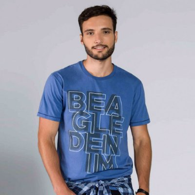 Camiseta Beagle Denim
