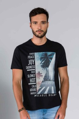 Camiseta Masculina Game Over