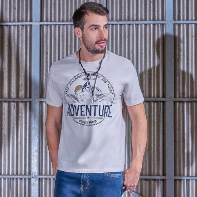 Camiseta Masculina Adventure