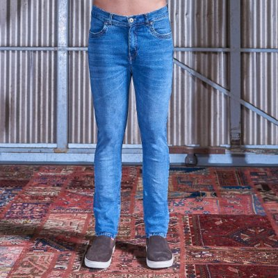 Calça Slim Texas Masculina Jeans