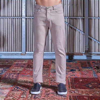Calça Slim Texas Masculina Sarja Color