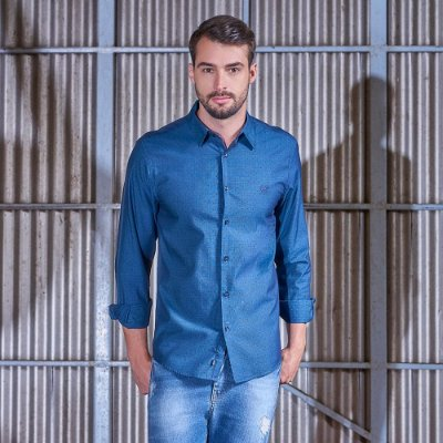 Camisa Manga Longa Comfort Fit