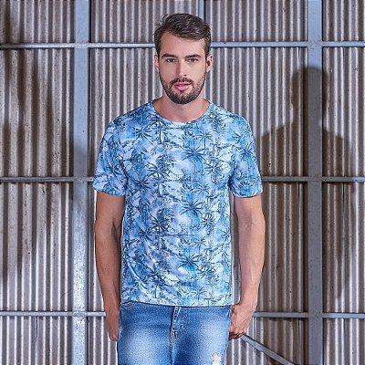 Camiseta Palm Blue