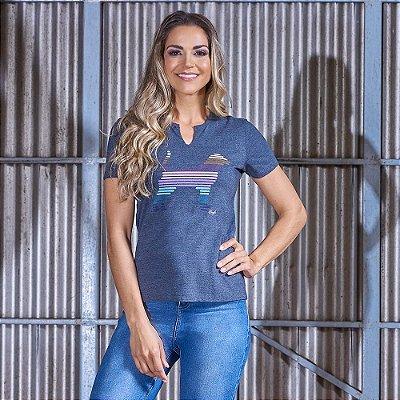 Camiseta Feminina Estampa Beagle