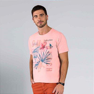 Camiseta Masculina Estampada
