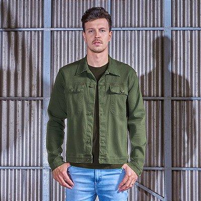 Jaqueta Masculina Color Verde