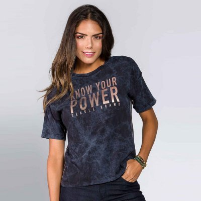 Camiseta Feminina Know Your Power