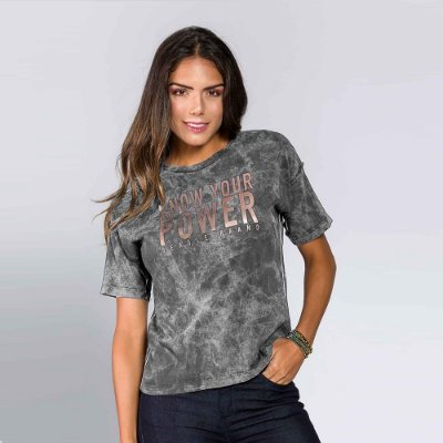 Camiseta Feminina Know Your Power