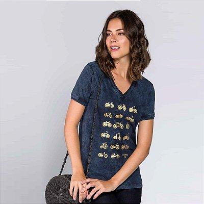 Camiseta Feminina Bike