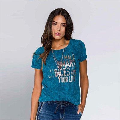 Camiseta Feminina Make Smart Choices