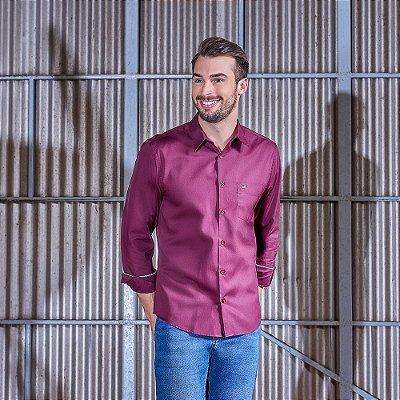 Camisa Masculina Comfort Fit