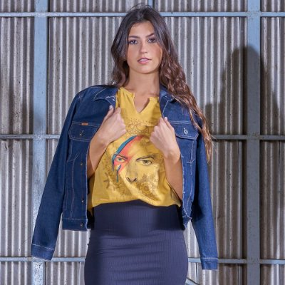 Jaqueta Feminina Jeans