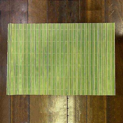 Jogo Americano Bambu Verde