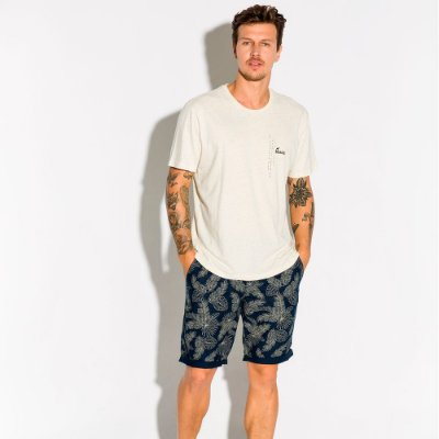 Camiseta Masculina Estampa Frente e Costas