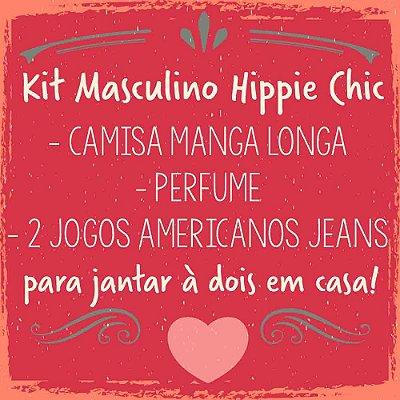 KIT HIPPIE CHIC MASCULINO