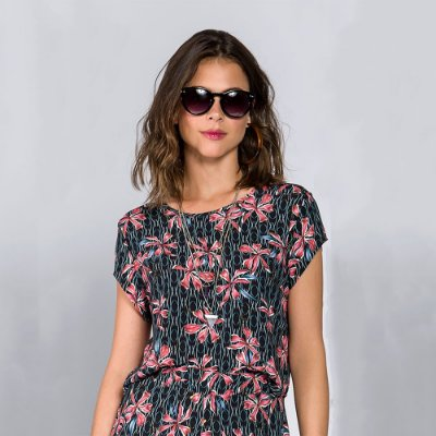 Blusa Cropped Flores
