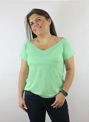Blusa Básica Verde