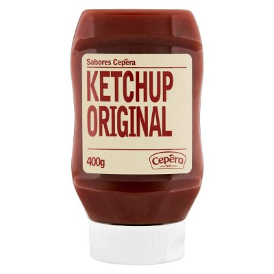 Ketchup Original Sabores Cepêra 400g