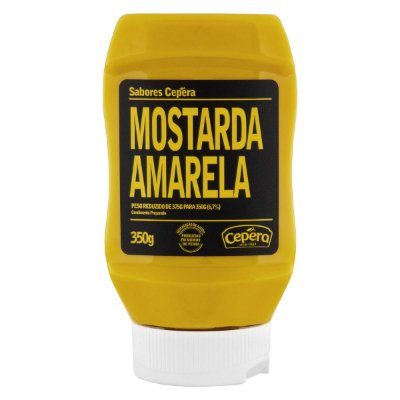 Mostarda Amarela Sabores Cepêra 350g
