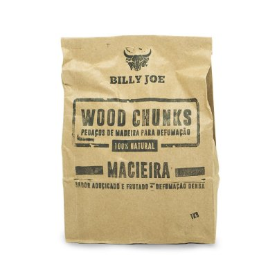 Wood Chunks Macieira Billy Joe - 1Kg