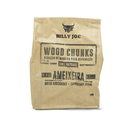 Wood Chunks Ameixeira Billy Joe - 1Kg