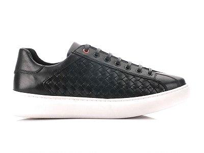 Tênis Sneaker Teselli Parizi Black Trissê EF43
