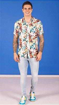 Camisa Pargan Viscose MM Estampa Floral 1320561