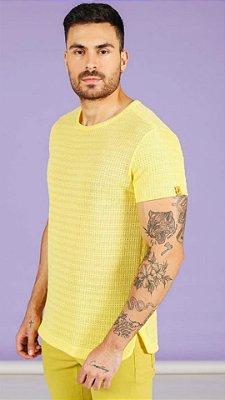 Camiseta Pargan Grecia Amarela Trico 1321111