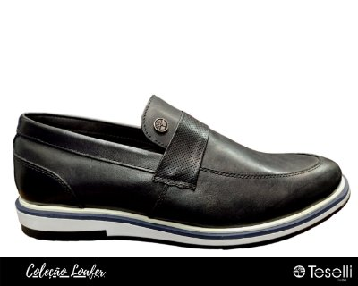 Loafer Teselli Tricae Preto 7006