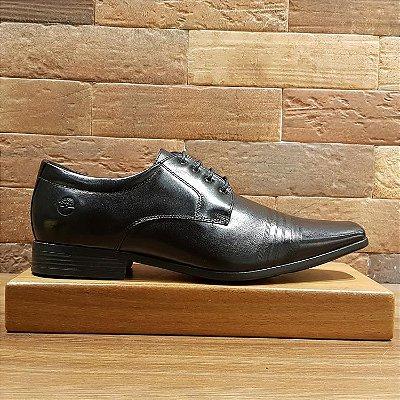 Sapato Social Teselli Confort Preto 14616