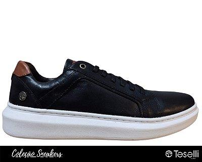 Tênis Sneaker Teselli Morgan Preto 1411