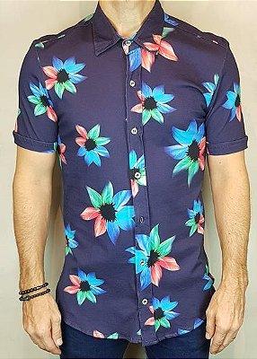 Camisa Estampada Teselli by M-Art Floral