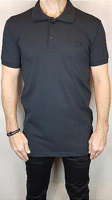 Camisa Polo Teselli by M-Art Piquet Preto