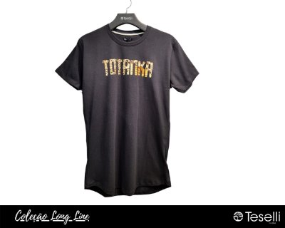 Camisa Long Line Totanka Sunrise Premium
