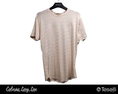 Camisa Long Line Totanka Sean Rosê Premium