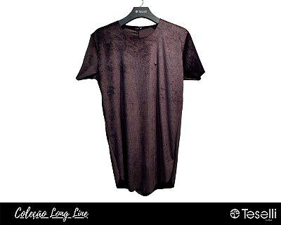 Camisa Long Line Totanka Canelada Premium
