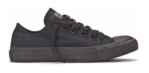 Tênis Converse All Star Ct As Monochrome Ox Preto Ct04460002