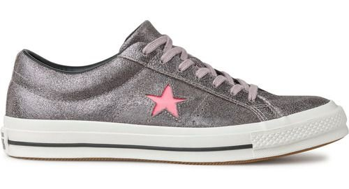 Tênis Converse One Star Ox Cinza Ametista Co02940001